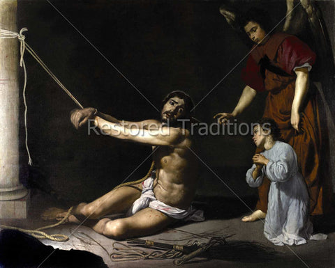 Jesus Scourged at the Pillar