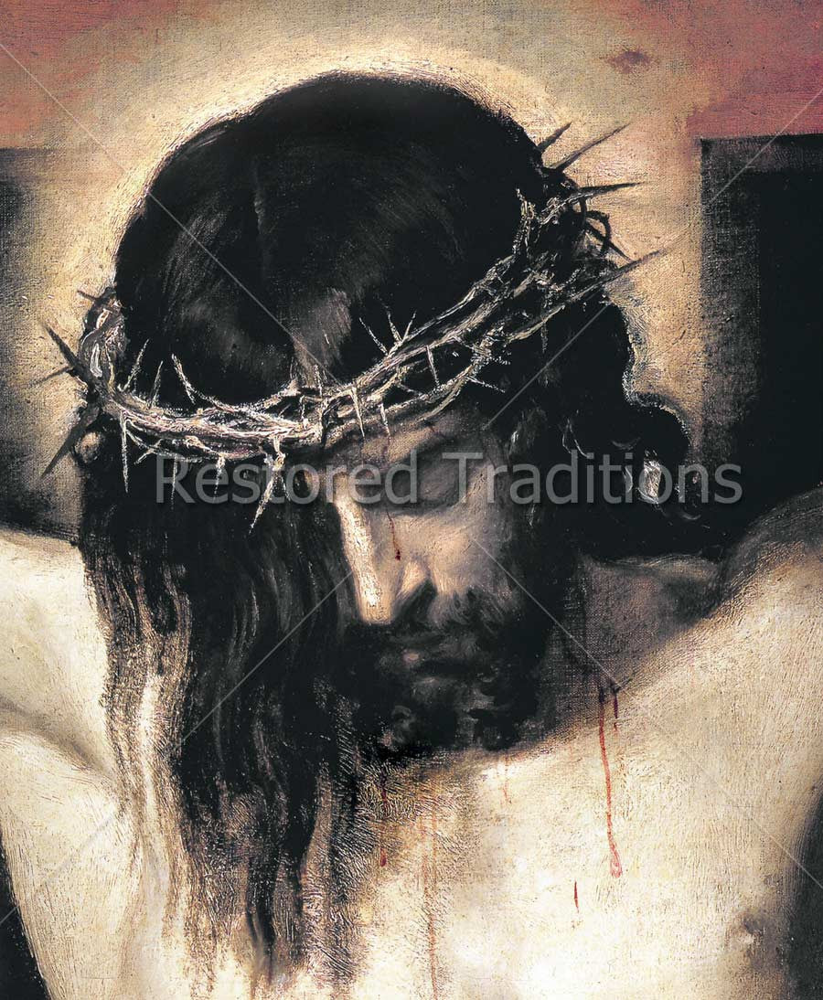 Portrait of the Crucified Jesus
