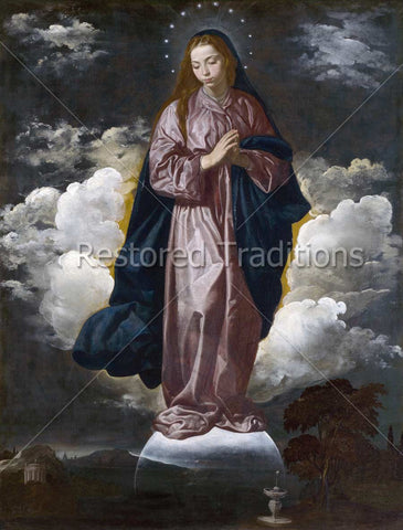Immaculate Conception – Velazquez