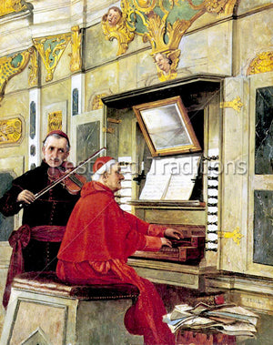 Cardinals Playing Music