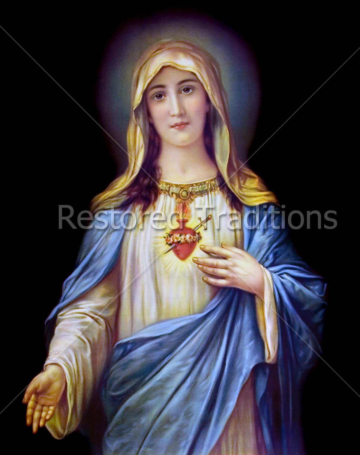 High Resolution Images Of The Virgin Mary For Download Restored