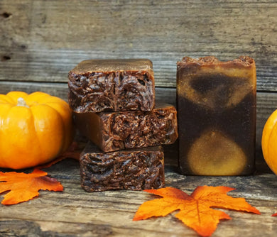 Dark Pumpkin Spice Soap