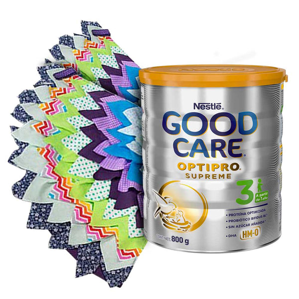 Fórmula de crecimiento GOOD CARE 3 Optipro Supreme 800 g  + alas de dragón