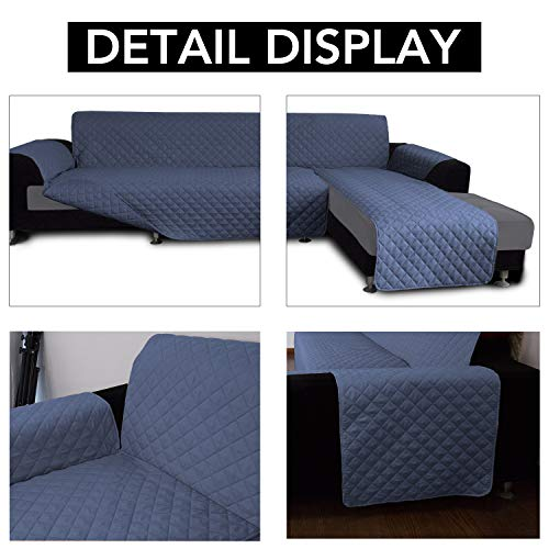 Sofa Slipcover L Shape Sofa Cover Sectional Couch Cover Chaise Lounge Slip Cover Reversible Sofa Cover Furniture Protector Cover