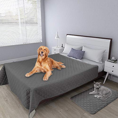 Waterproof Dog Bed Cover Furniture Protector Sofa Cover Non-Slip Washable Reusable Incontinence Bed Underpads