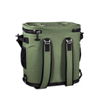 Green Waterproof Leakproof Soft Insulated Cooler Backpack