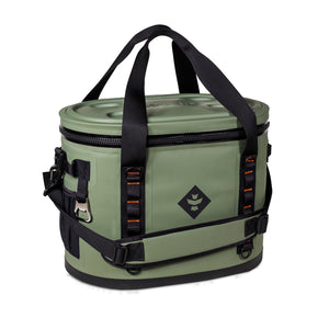 Green Waterproof Leakproof Soft Insulated Cooler Tote