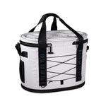 Light Grey Waterproof Leakproof Soft Insulated Cooler Tote