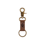 Leather Keychain Key Clip Key Ring