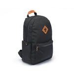 Black Nylon Smell Proof Water Resistant Backpack Bag
