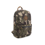 Camo Brown Canvas Smell Proof Water Resistant Backpack Bag