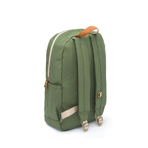 Green Nylon Smell Proof Water Resistant Backpack Bag