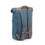 Marine Canvas Smell Proof Water Resistant Rolltop Backpack Bag