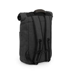 Smoke Canvas Smell Proof Water Resistant Rolltop Backpack Bag