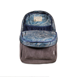 Ash Canvas Smell Proof Water Resistant Backpack Bag Interior