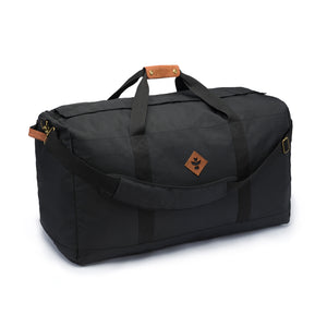 Black Nylon Smell Proof Water Resistant Large Duffle