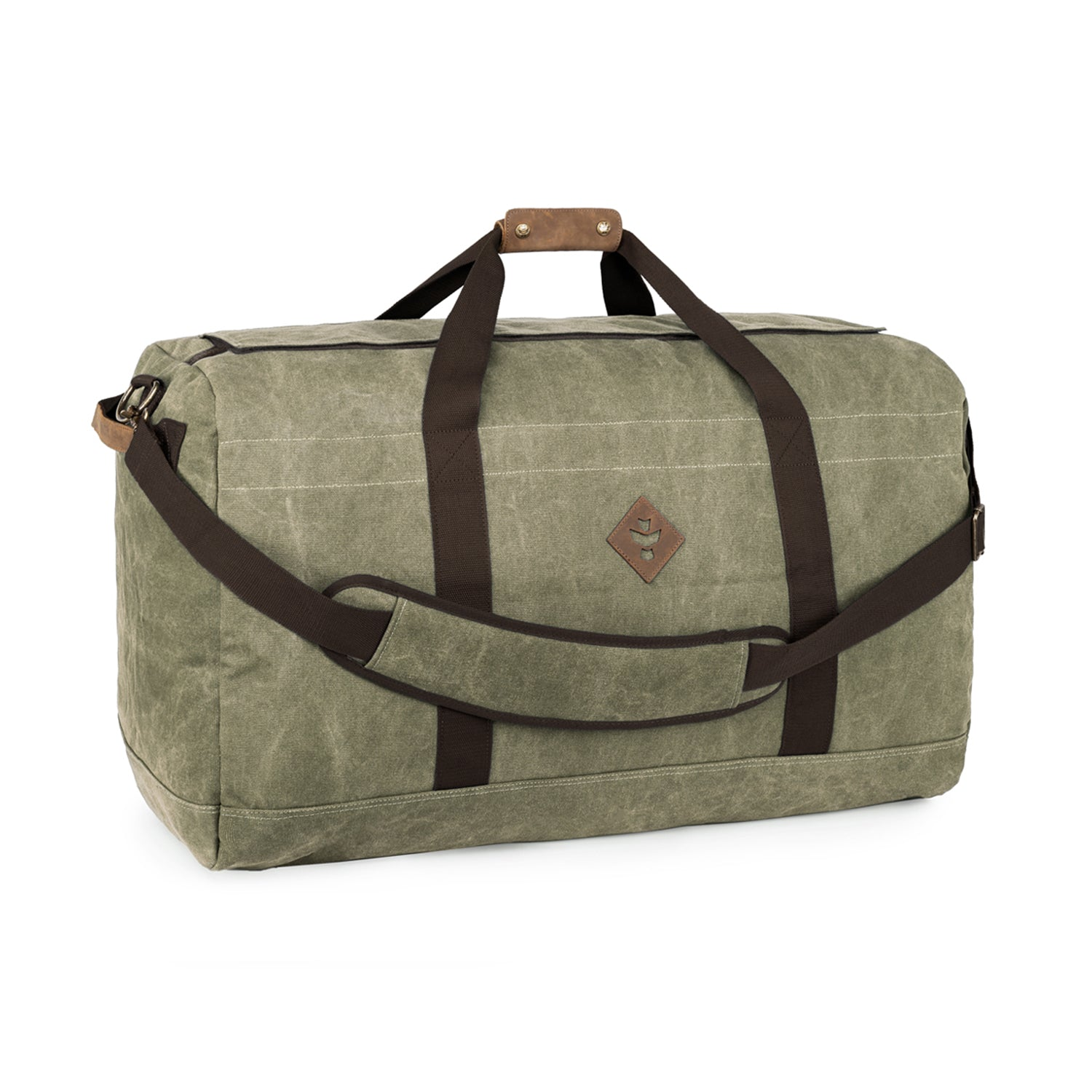Sage Canvas Smell Proof Water Resistant Large Duffle