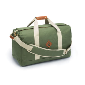Green Nylon Smell Proof Water Resistant Medium Duffle