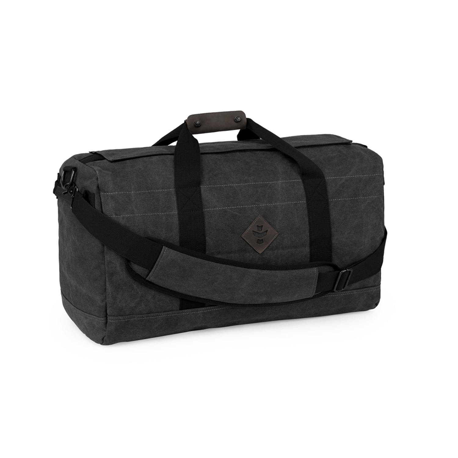 Smoke Canvas Smell Proof Water Resistant Medium Duffle Bag