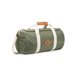Green Nylon Smell Proof Water Resistant Small Duffle Bag