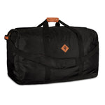 Black Nylon Smell Proof Water Resistant Extra Large Duffle Bag