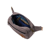 Ash Canvas Smell Proof Water Resistant Crossbody Bag Interior Zipper