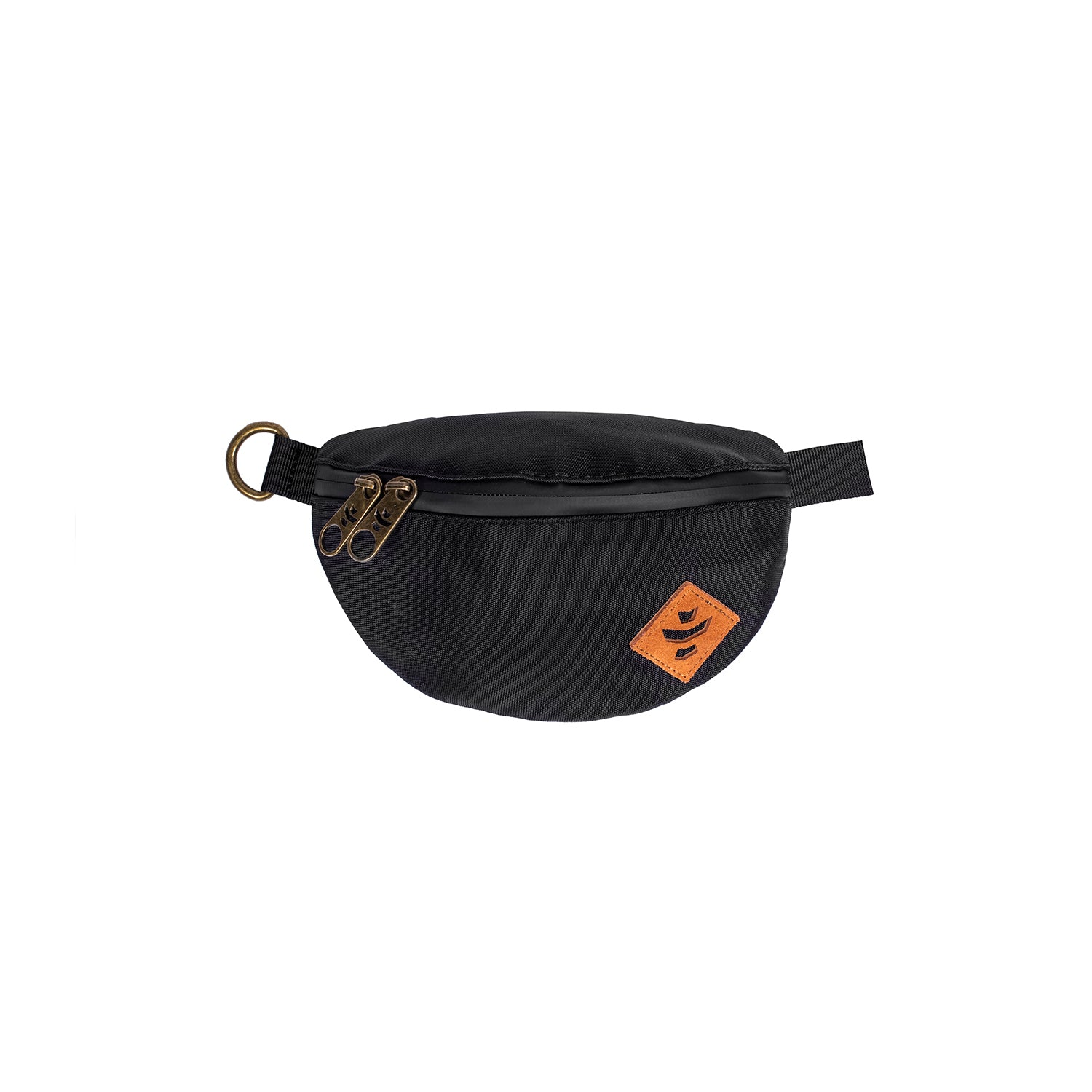 Black Nylon Smell Proof Water Resistant Fanny Pack