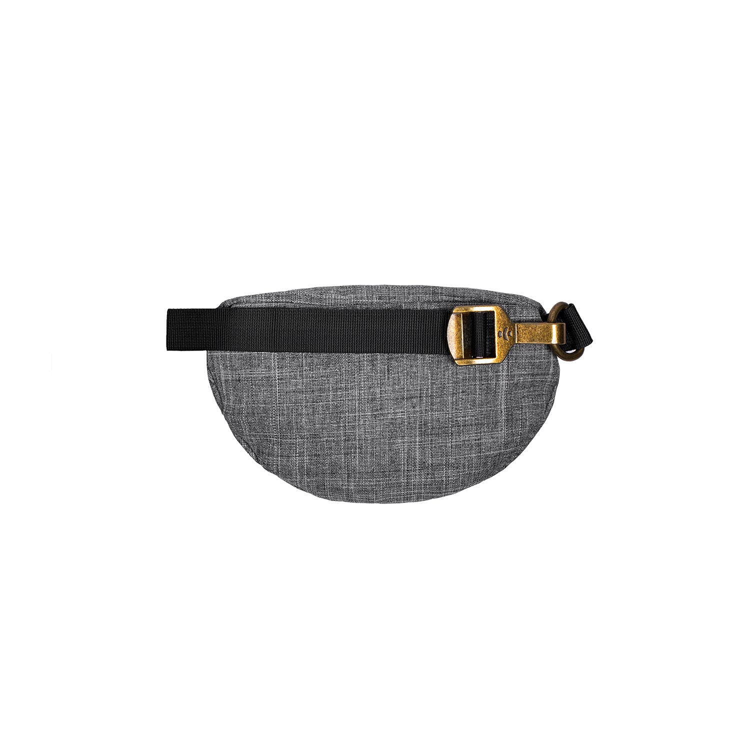 Crosshatch Grey Nylon Smell Proof Water Resistant Fanny Pack
