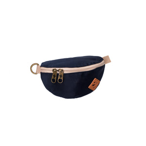 Navy Blue Nylon Smell Proof Water Resistant Fanny Pack