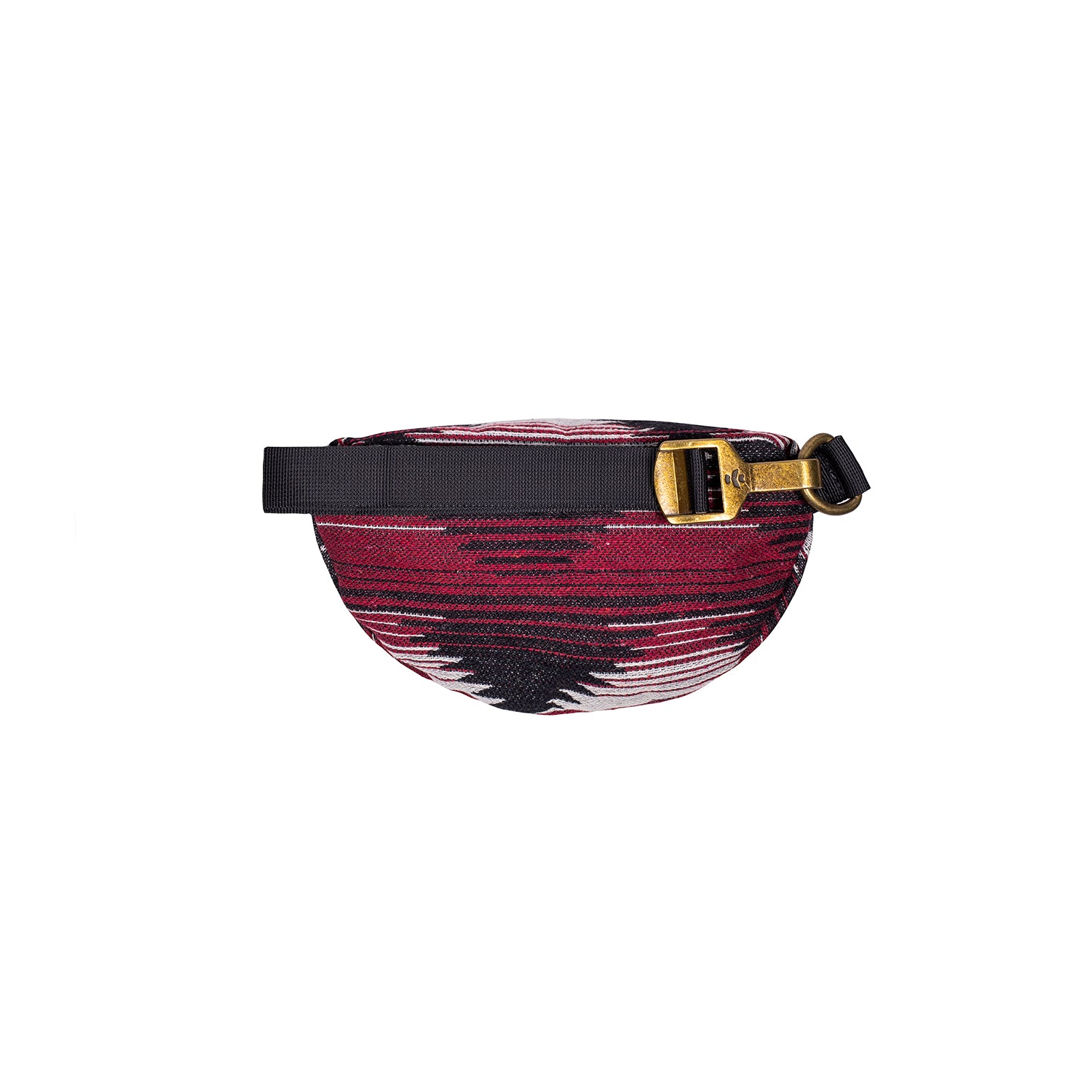 Maroon Pattern Smell Proof Water Resistant Fanny Pack