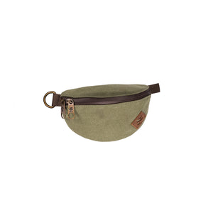 Sage Green Canvas Smell Proof Water Resistant Fanny Pack