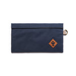 Navy Blue Nylon Smell Proof Water Resistant Velcro Bank Bag