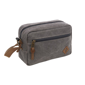 Ash Canvas Smell Proof Water Resistant Toiletry Dopp Kit Bag