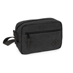 Smoke Canvas Smell Proof Water Resistant Toiletry Dopp Kit Bag