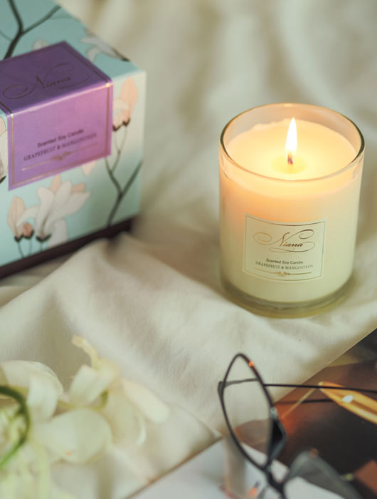 Grapefruit & Mangosteen Candle - Niana