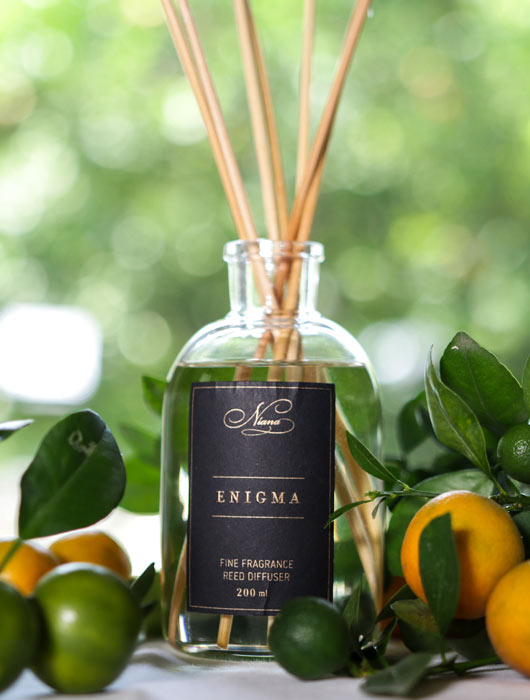 Enigma Fine Fragrance Reed Diffuser - Niana