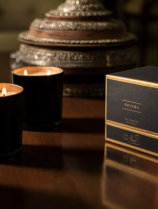 Enigma Fine Fragrance Candle - Niana