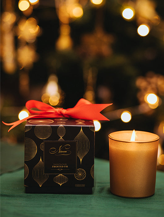 Frosted Fir Candle - Niana