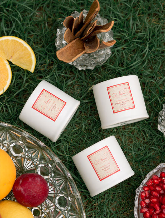 Fruity Collection - Set of 3 Candles - Niana