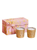 Galaxy Gold - Set of 2 Candles