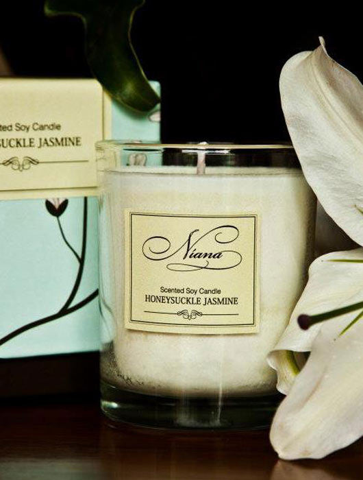 Honeysuckle Jasmine Candle - Niana