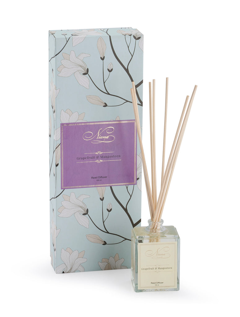 Grapefruit and Mangosteen Reed Diffuser