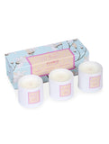 Floral Set of 3 Candles