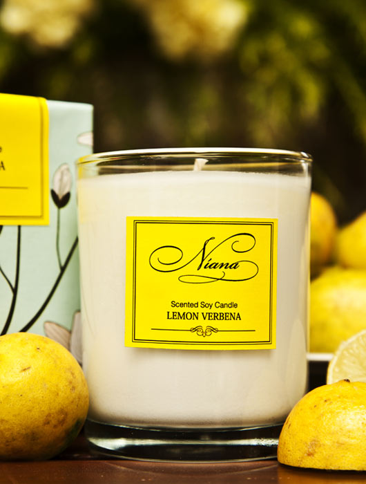 Lemon Verbena Candle - Niana
