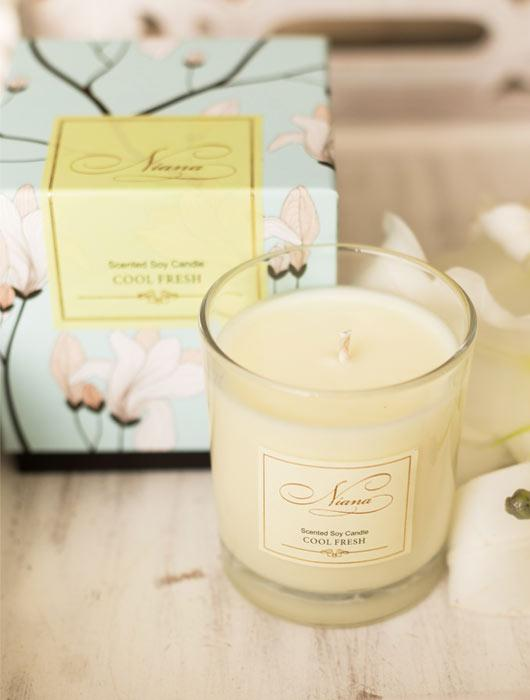 Signature Candle Duo - Cool Fresh & Mandarin Lime