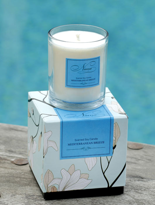 Mediterranean Breeze Candle - Niana