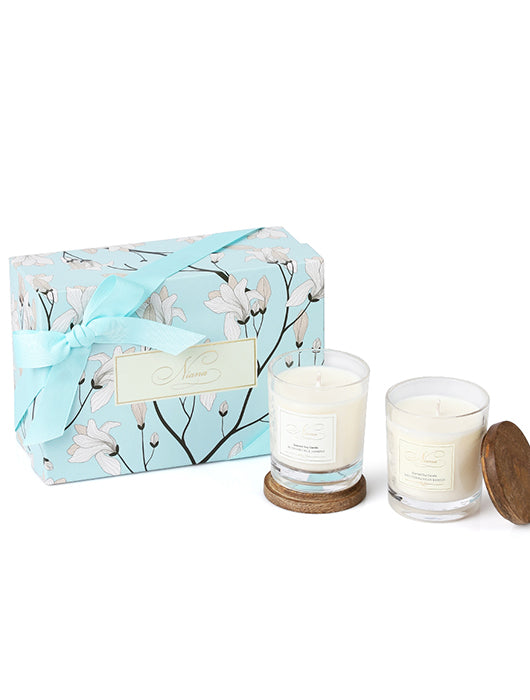 Signature Candle Duo - Honeysuckle Jasmine & Mediterranean Breeze