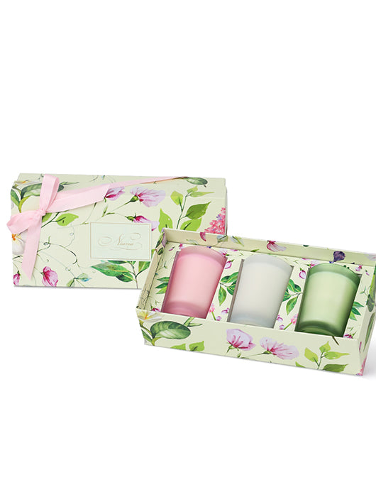 Spring Summer Candle Trio