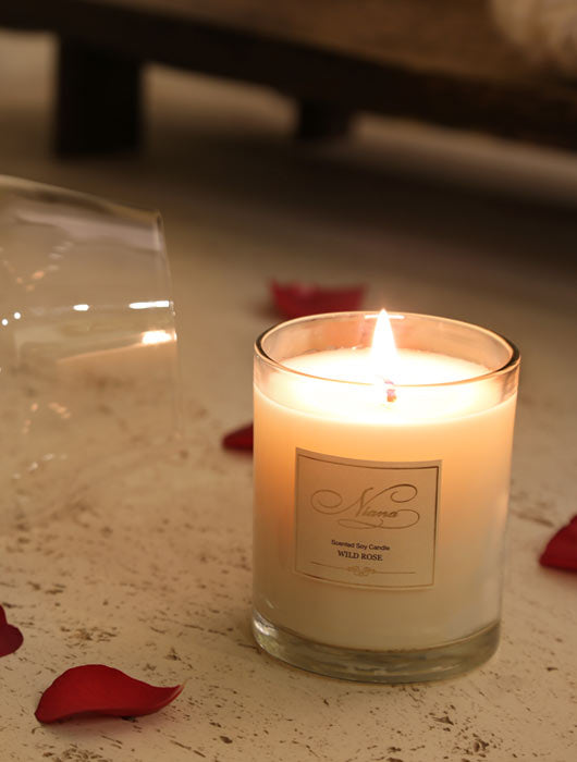Wild Rose Candle - Niana