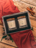 Holiday Candle Duo - Red Spice & Vanilla